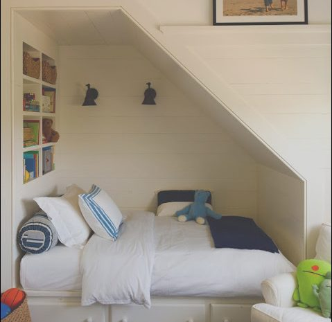 15 Loveable Under Stairs Bed Ideas Photography