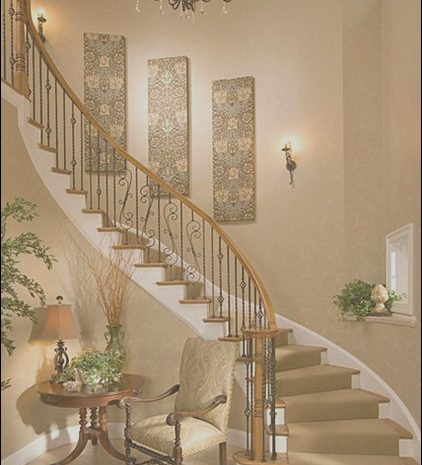 10 Artistic Wall Decor for Stairs Photos