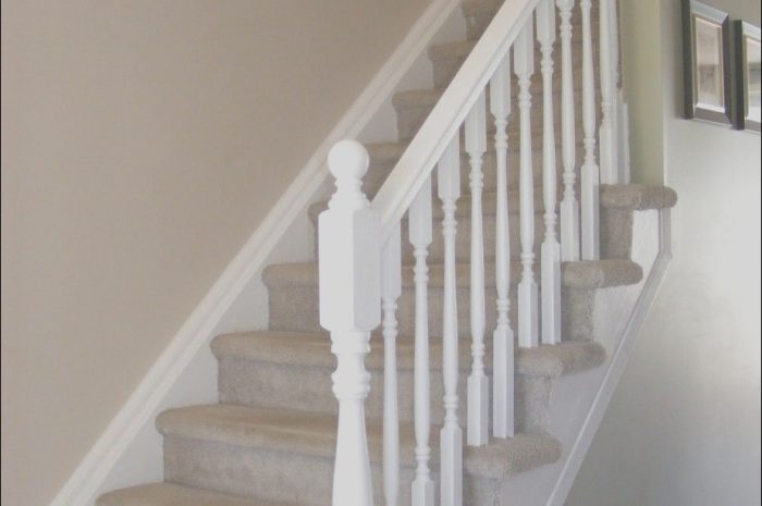 10 Beautiful White Handrails for Stairs Interior Gallery