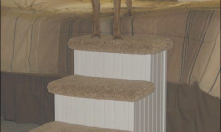 Wooden Pet Stairs for Large Dogs Luxury Dog Stairs Cat Stairs Designer Dog by Hamptonbaypetsteps