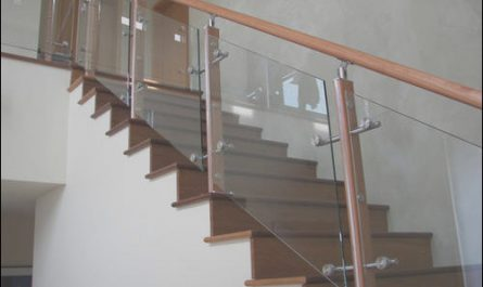 Wooden Railing with Glass for Stairs Best Of Wooden Glass Railing Glass Staircase Railing कांच की
