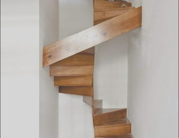 10 Realistic Wooden Stairs for Small Spaces Collection