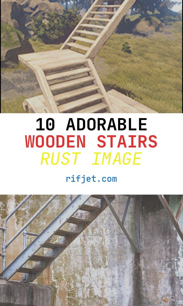 10 Adorable Wooden Stairs Rust Image
