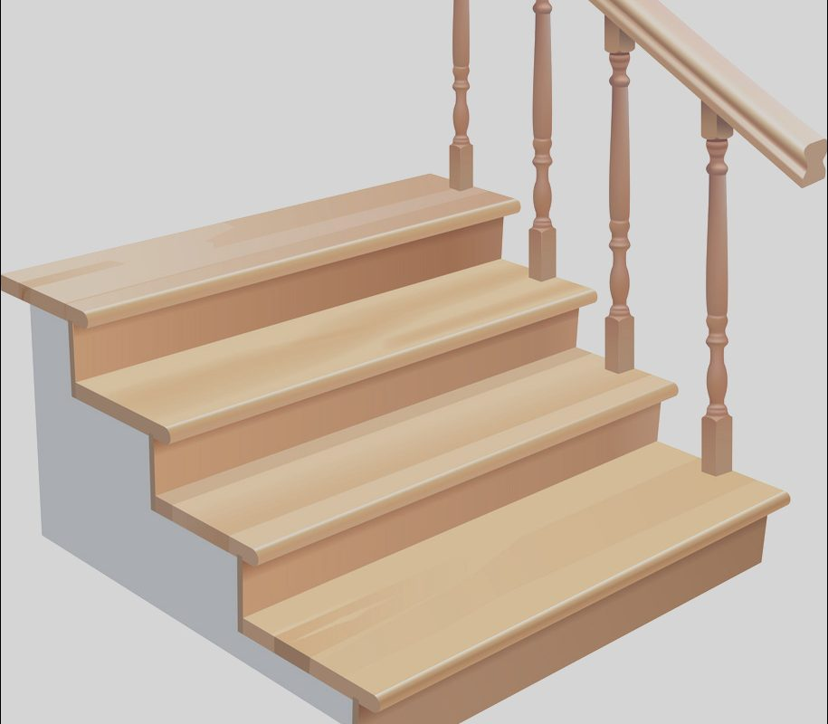 Wooden Stairs Vector Inspirational Wooden Stairs Royalty Free Vector Image Vectorstock