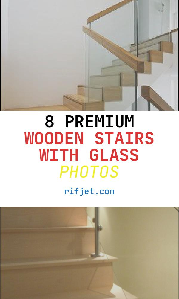 8 Premium Wooden Stairs with Glass Photos