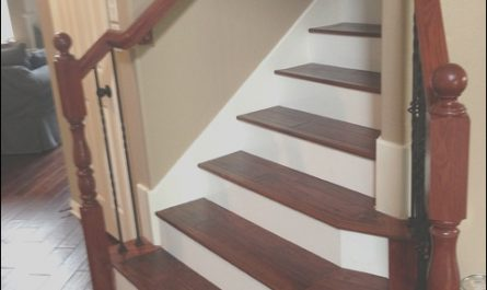 Wooden Stairs with Painted Risers Fresh Kentwood Acacia Wood Stairs with Painted Risers