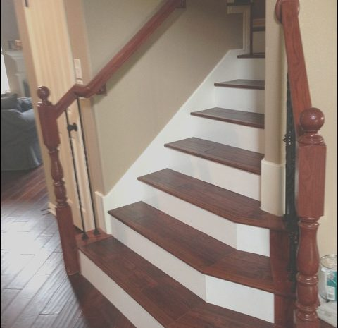 14 Best Wooden Stairs with Painted Risers Photos
