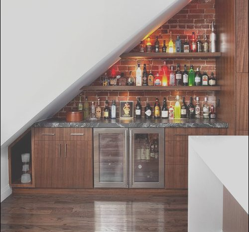 11 Extraordinay Bar Under Stairs Design Image
