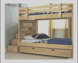 Bed with Stairs Wooden Awesome solid Wood Bunk Beds with Stairs Ideas On Foter