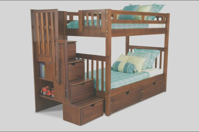 12 Complex Bobs Furniture Bunk Bed with Stairs Images