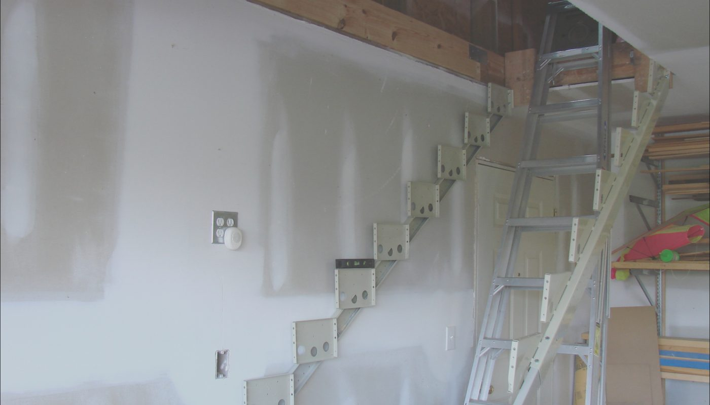 Building Stairs to attic In Garage Lovely Garage attic Access Stairs • attic Ideas