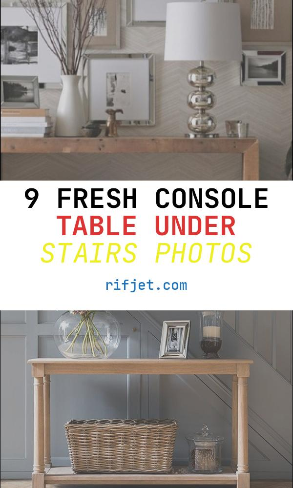 Console Table Under Stairs Luxury that Space Under the Stairs