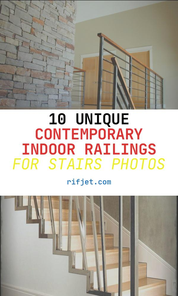 Contemporary Indoor Railings for Stairs Unique Contempoary Stair Railing Modern Staircase Milwaukee
