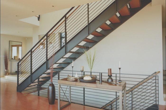11 Best Contemporary Metal Stairs Photography