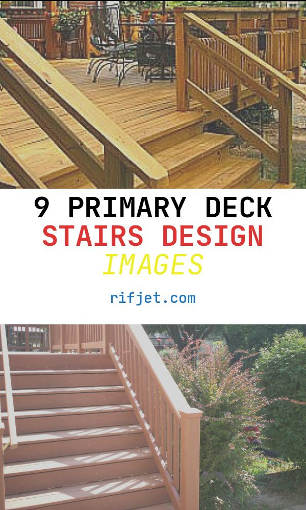 9 Primary Deck Stairs Design Images