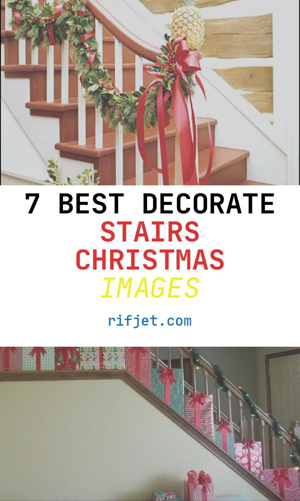 7 Best Decorate Stairs Christmas Images
