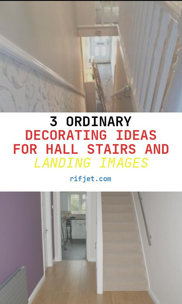 Decorating Ideas for Hall Stairs and Landing Lovely Wallpaper Under Dado Rail Staircases