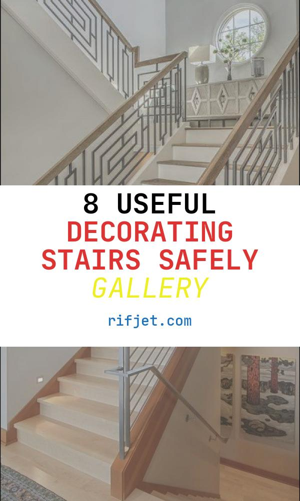 Decorating Stairs Safely Awesome 40 Modern Stair Railing Ideas Best Staircase Safety