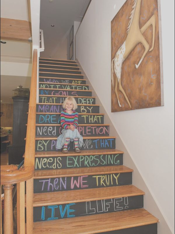 Decorating the Stairs Unique Decorative Stair Risers with Designs for All Tastes