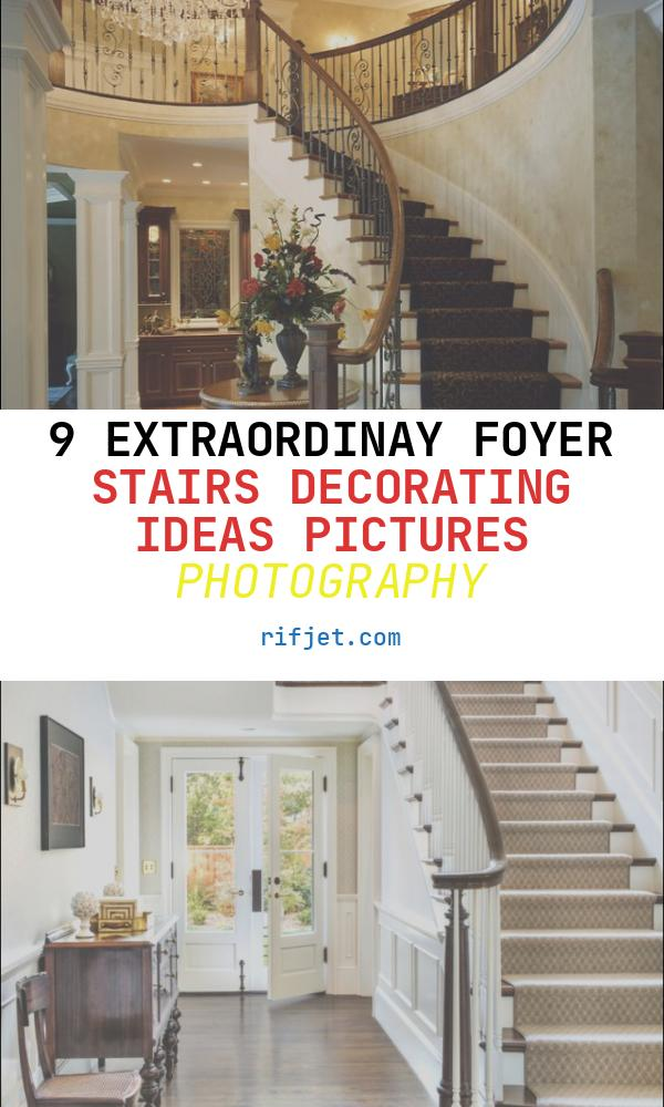 Foyer Stairs Decorating Ideas Pictures Unique 17 Best Images About Entryway Foyer On Pinterest