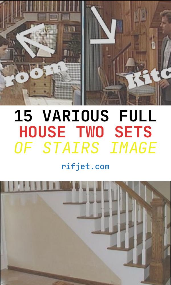 15 Various Full House Two Sets Of Stairs Image