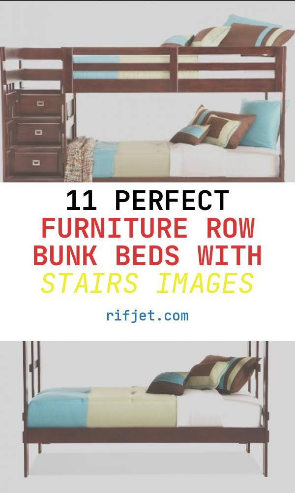 Furniture Row Bunk Beds with Stairs Elegant Campus Twin Over Twin Stair Bunk Bed Furniture Row