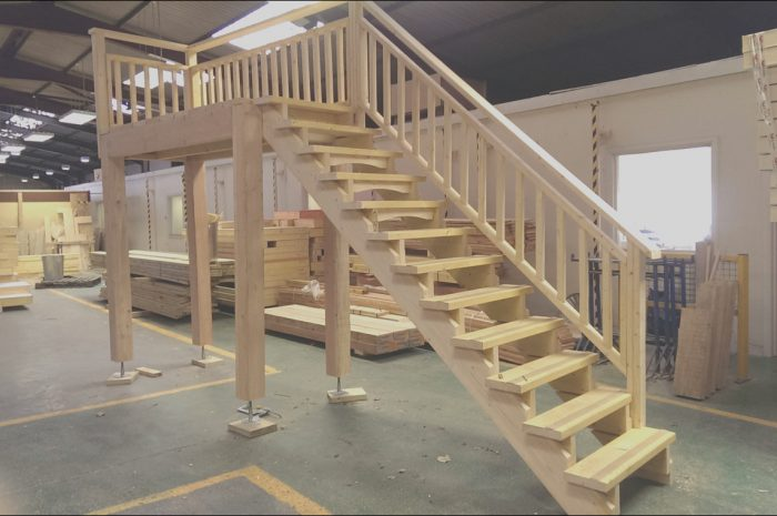 14 Likeable Garage Stairs Plans Collection