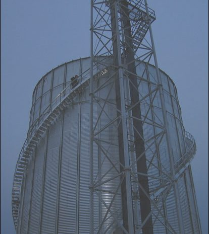 12 Extraordinay Grain Bin Roof Stairs Stock