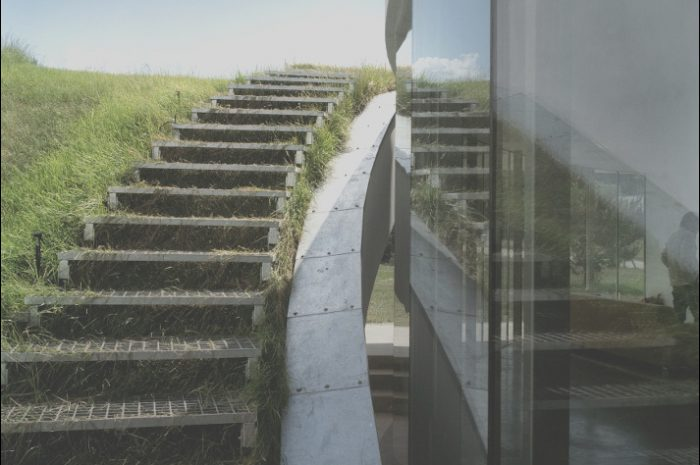 14 Extraordinay Green Roof Stairs Photos