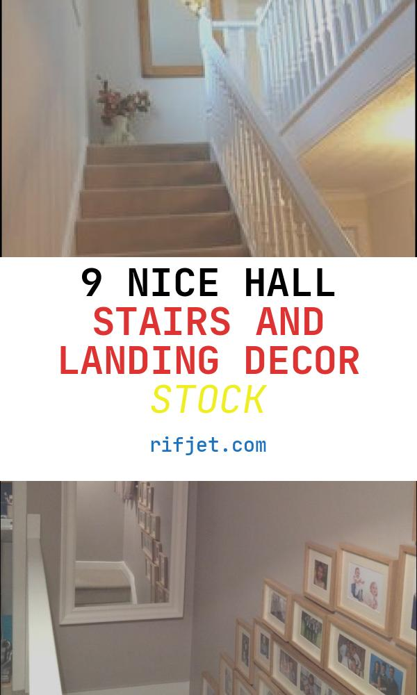 9 Nice Hall Stairs and Landing Decor Stock