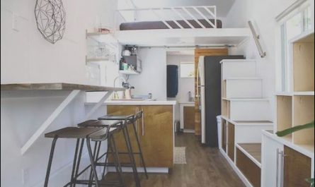 Homes with Two Sets Of Stairs Elegant Jetson Green Tiny Home with Two Sets Of Stairs