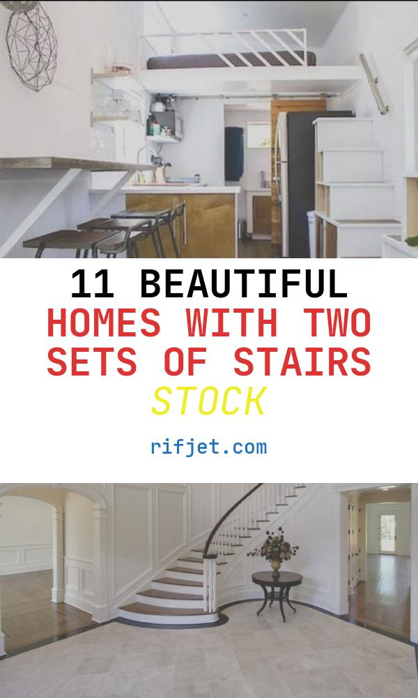11 Beautiful Homes with Two Sets Of Stairs Stock