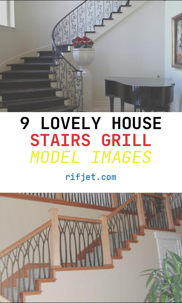 9 Lovely House Stairs Grill Model Images
