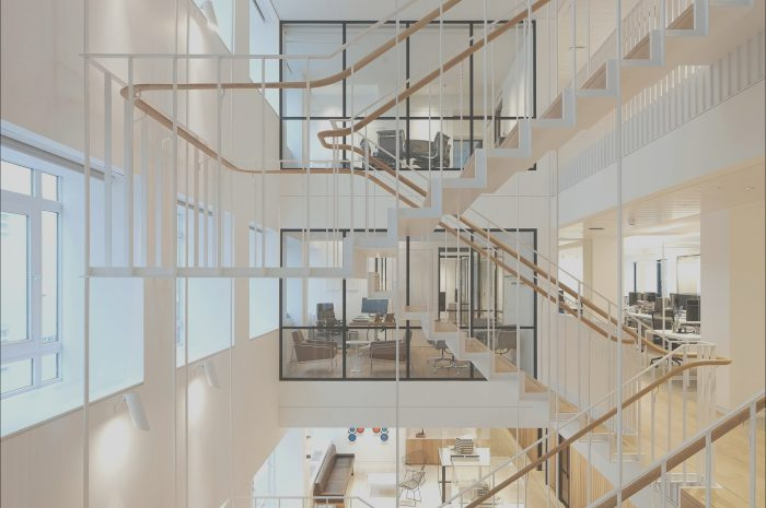 15 Pleasant Interior Office Stairs Photography