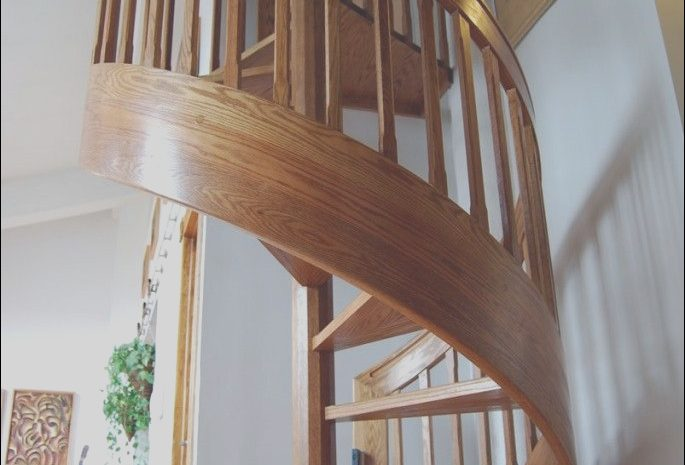 12 Realistic Interior Spiral Stairs Photos