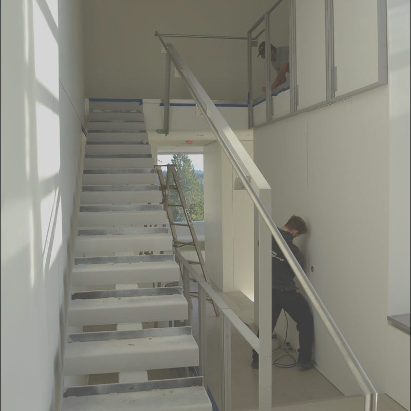 Interior Stairs Construction Beautiful Detail – Interior Stair Home Building In Vancouver