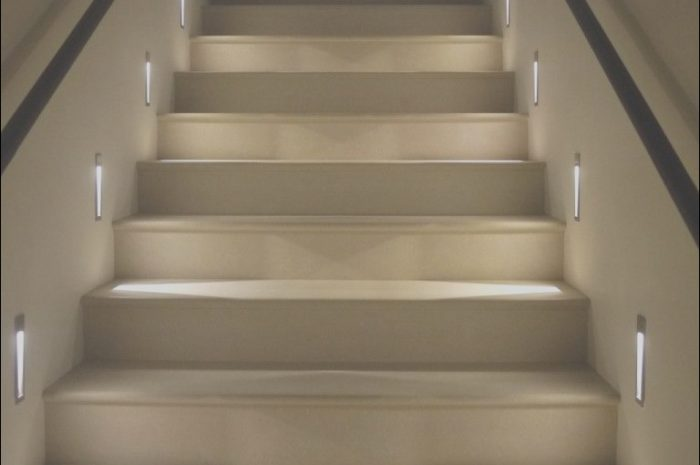 15 Great Interior Stairs Lighting Photos