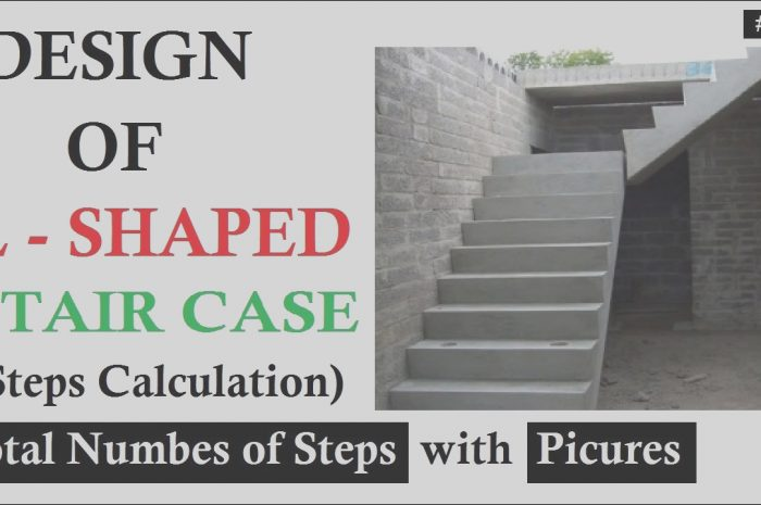 9 Glamorous L Type Stairs Design Images