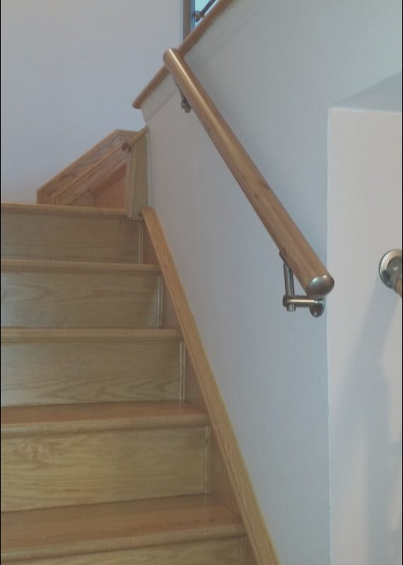 Modern Hand Railings for Stairs New Wall Mount Modern Stair Hand Rail Staircase Railing Kit