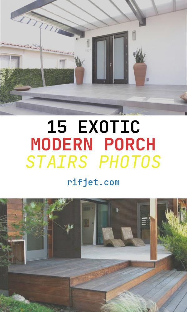 Modern Porch Stairs Unique Alvarez Residence Staircase Modern Porch Miami by