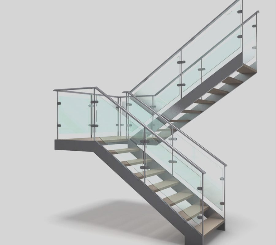 Modern Stairs 3d Model Awesome Modern Stair 3 3d Model $25 3ds Blend Unknown Dae