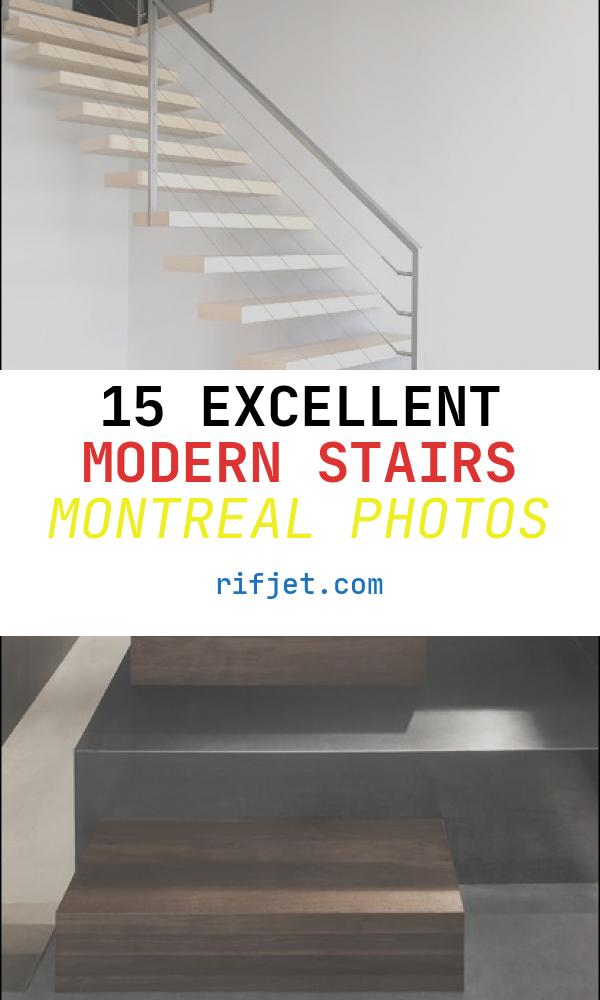 Modern Stairs Montreal Elegant All Contemporary Staircase Montreal by Gepetto