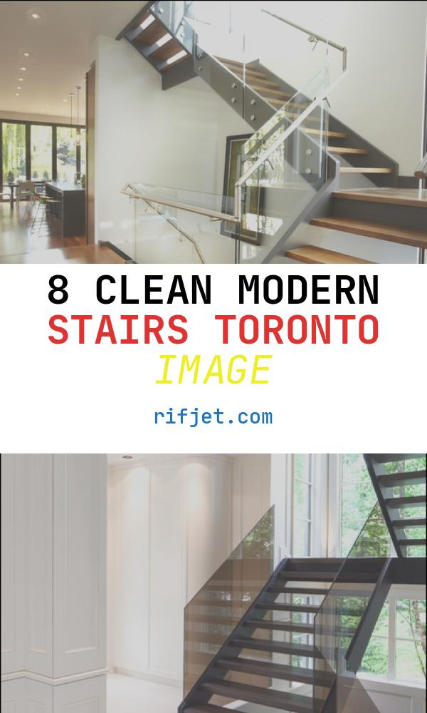 8 Clean Modern Stairs toronto Image