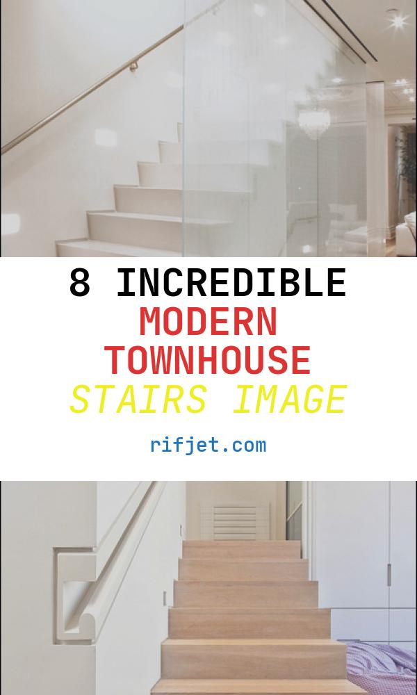 Modern townhouse Stairs Awesome West Village townhouse Nyc