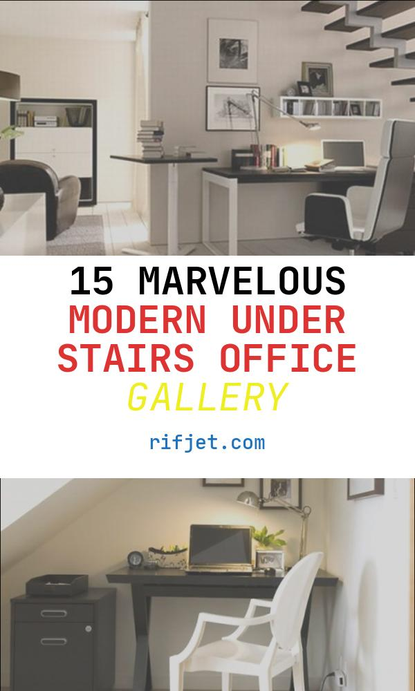 Modern Under Stairs Office Inspirational 15 Smart Under Stairs Home Fice Designs Rilane