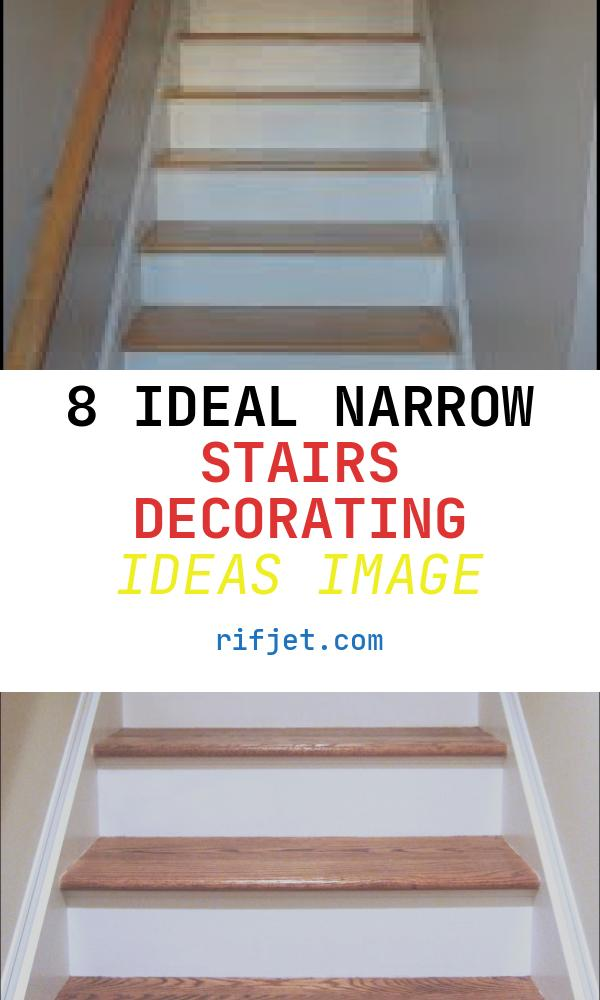 8 Ideal Narrow Stairs Decorating Ideas Image