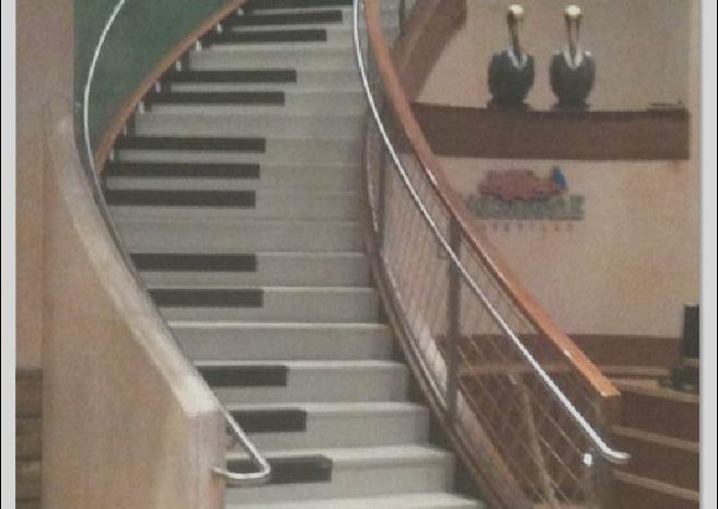 12 Outstanding Piano Stairs Design Gallery