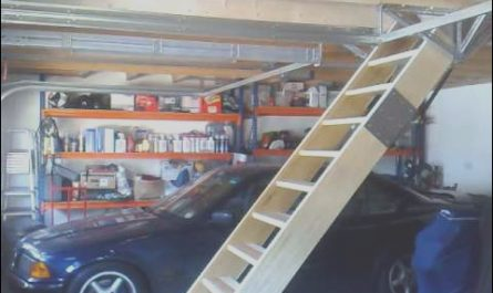 Pull Down Stairs Garage Best Of Retracting Loft Staircase