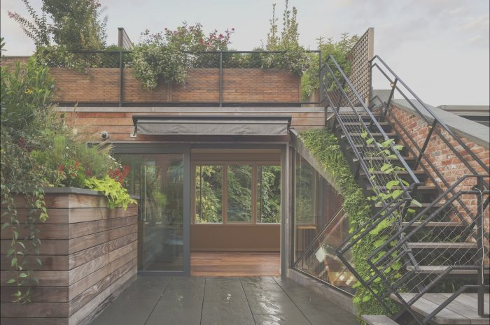 8 Likeable Roof Garden Stairs Photos