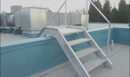Roof Over Stairs Fresh Roof Stair & Bilco Improves Roof top Safety with the New